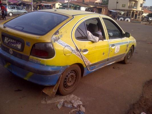 Un taxi de Conakry