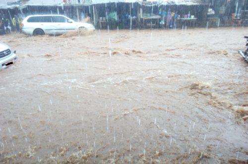 Article : Quand il pleut à Conakry
