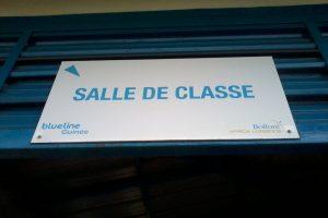 BlueZone de Sonfonia - la salle de classe