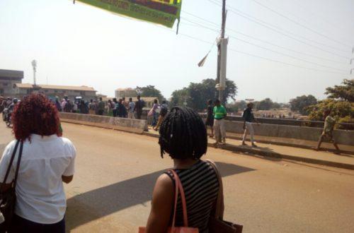 Article : Sur le pont de Madina (première partie)