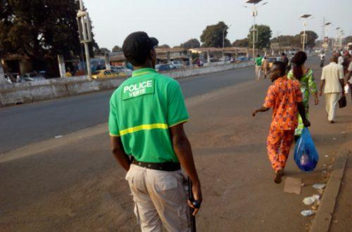 Article : La police verte de Conakry